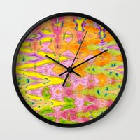 lace Wall Clocks featuring Lace by Ingrid Padilla