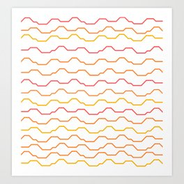 Hotdiggity Art Print