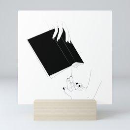 Sepiosexual Mini Art Print
