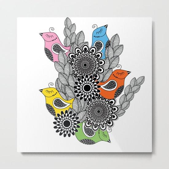 pattern 79 Metal Print