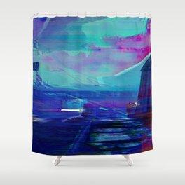 Beneath The Prydwen Shower Curtain