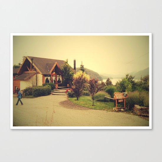 Villa Langostura Canvas Print