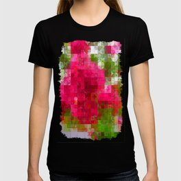 Crape Myrtle Abstract Circles 2 T-shirt