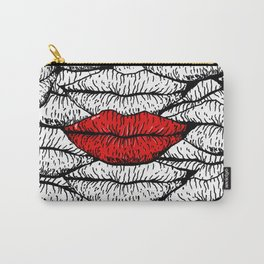 A Bunch of Kisses Carry-All Pouch