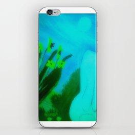 Moon Gazing Hare iPhone Skin