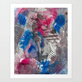 Vesalius Memento Mori Art Print