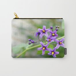 """Purple Beauty"" Carry-All Pouch"