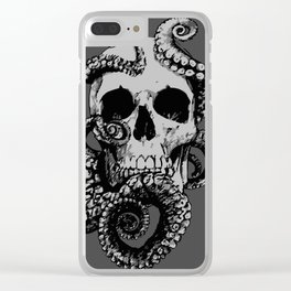 Skull & Octopus Clear iPhone Case