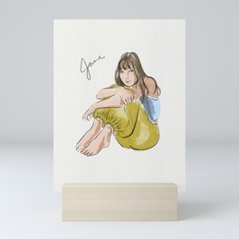 Jane Birkin Mini Art Print