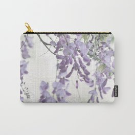 Wisteria Lavender Carry-All Pouch