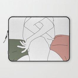 Figures line drawing - Elinor Laptop Sleeve