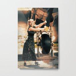 Dieselpunk Poster II Metal Print