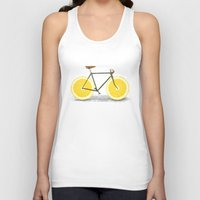lemon Tank Tops featuring Zest by Florent Bodart / Speakerine