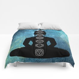 Sacred Geometry - Chakras Aligned Comforters