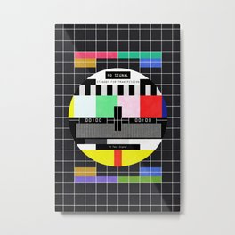 Standby for transmission ... Metal Print