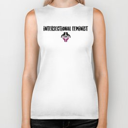 Intersectional Feminist - Design 2 Biker Tank