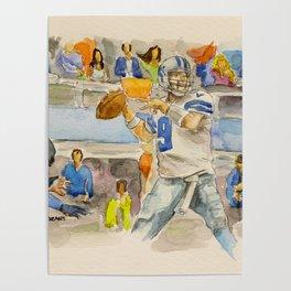 Tony Romo - Retired Pro Football Player Poster