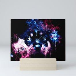 rottweiler puppy dog ws c80 Mini Art Print