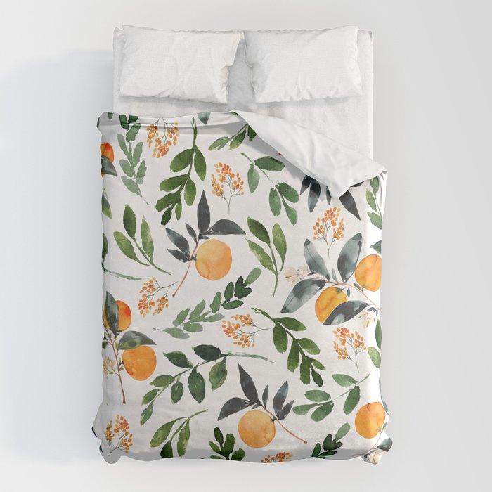 Orange Grove Bettbezug