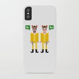 Pixel Breaking Bad iPhone Case