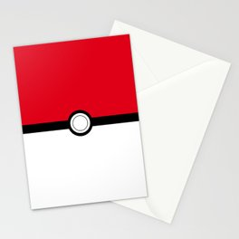 Pokeball Stationery Cards