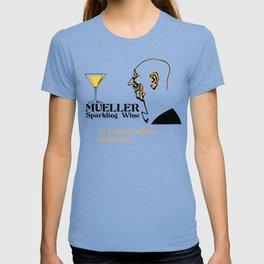 Mueller sparkling wine T-shirt