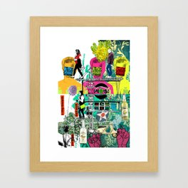 A Step Towards ( Pop ) Framed Art Print