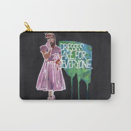Dresses are for Everyone Carry-All Pouch