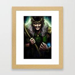 Agent of Asgard Framed Art Print