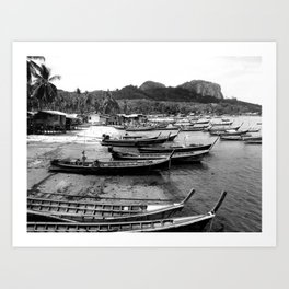South Side, Koh Muuk Art Print