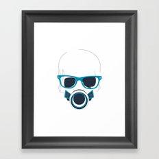 Modern Hipster Framed Art Print