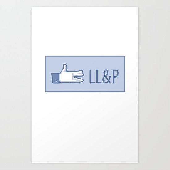 Live Long & Prosper Art Print