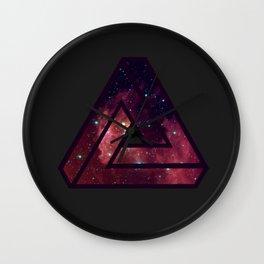 Infinity Triangle  Wall Clock