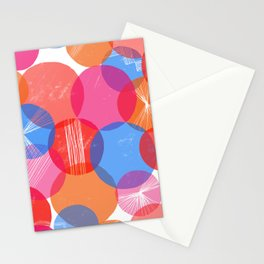Bauhaus Bubbles - by Kara Peters Stationery Cards