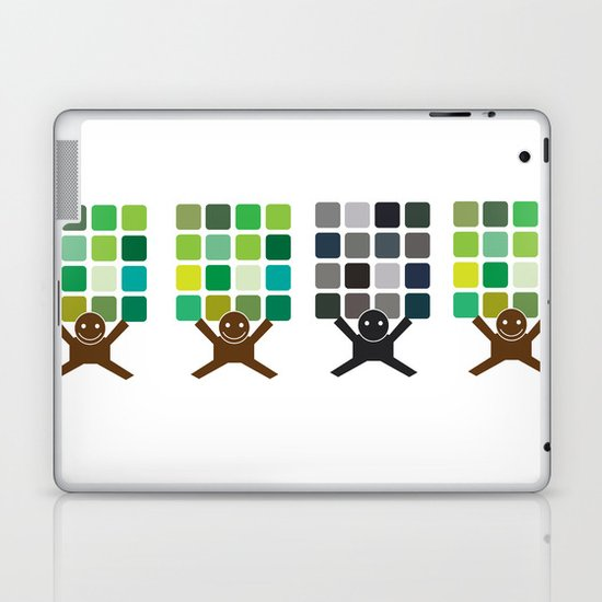 Think It! Like It? Laptop & iPad Skin