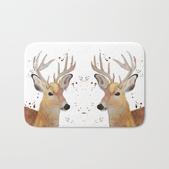 Deer Bath Mat