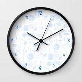 Buffy Symbology, Blue Wall Clock
