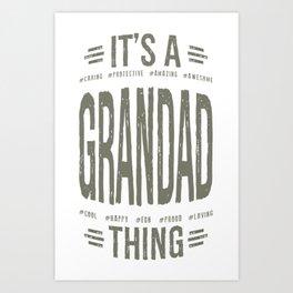 Gift-for-Grandad Art Print