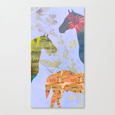 Chinese Lunar New Year and 12 animals  ❤  The HORSE 馬 Canvas Print