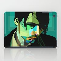 wes anderson iPad Cases featuring Brett Anderson by zomplag