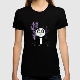 Panda Girl - Purple T-shirt