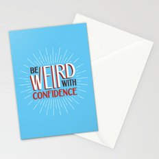 Be Weird With Confidence Stationery Cards
