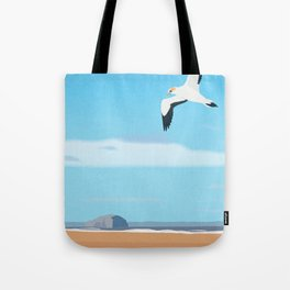 The Gannet and Bass Rock Tote Bag
