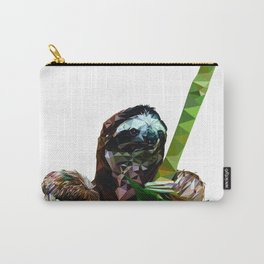 Sloth Low Poly Carry-All Pouch