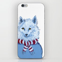 Winter Wolf iPhone Skin
