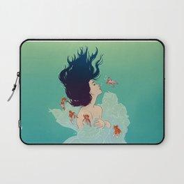 Underwater Lady Laptop Sleeve