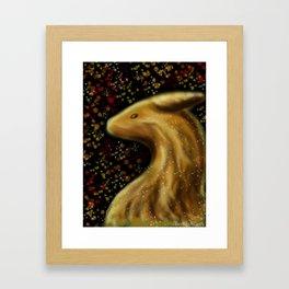 Fall Dragon Framed Art Print