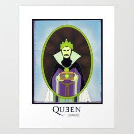 Long Live Queen Freddie Art Print
