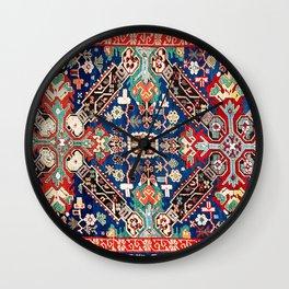 Zeikhur Kuba East Caucasus Rug Print Wall Clock