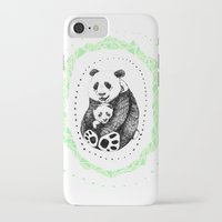 pandas iPhone & iPod Cases featuring PANDAS! by Sagara Hirsch
